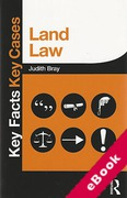 Cover of Key Facts Key Cases: Land Law (eBook)