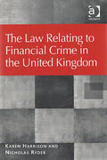 Cover of The Law Relating to Financial Crime in the United Kingdom
