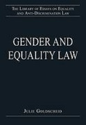 Cover of Gender and Equality Law