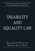 Cover of Disability and Equality Law