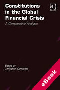 Cover of Constitutions in the Global Financial Crisis: A Comparative Analysis (eBook)
