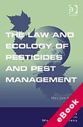 Cover of The Law and Ecology of Pesticides and Pest Management (eBook)