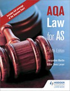 Cover of AQA Law for AS
