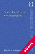 Cover of Capital Punishment: New Perspectives (eBook)