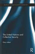 Cover of The United Nations and Collective Security