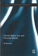 Cover of Human Rights Law and Personal Identity