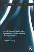 Cover of Jurisdiction and Arbitration Agreements in International Commercial Law