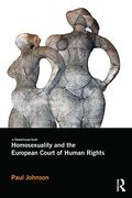 Cover of Homosexuality and the European Court of Human Rights