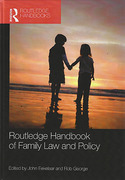 Cover of Routledge Handbook of Family Law and Policy