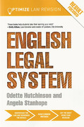 Cover of Optimize English Legal System