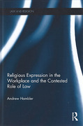Cover of Religious Expression in the Workplace and the Contested Role of Law