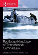 Cover of Routledge Handbook of Transnational Criminal Law