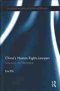 Cover of China's Human Rights Lawyers and Contemporary Chinese Law