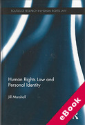 Cover of Human Rights Law and Personal Identity (eBook)