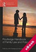 Cover of Routledge Handbook of Family Law and Policy (eBook)