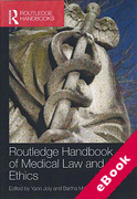 Cover of Routledge Handbook of Medical Law and Ethics (eBook)