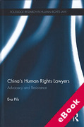 Cover of China's Human Rights Lawyers and Contemporary Chinese Law (eBook)