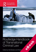 Cover of Routledge Handbook of Transnational Criminal Law (eBook)