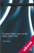 Cover of European Asylum Law and the Rights of the Child (eBook)