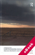 Cover of Earth Jurisprudence: Private Property and the Environment (eBook)