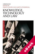 Cover of Knowledge, Technology and Law: At the Intersection of Socio-Legal and Science & Technology Studies (eBook)
