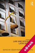Cover of Law and Society in Latin America: A New Map (eBook)