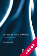 Cover of The Law and Politics of Memory Concerning Past Injustices (eBook)