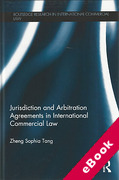 Cover of Jurisdiction and Arbitration Agreements in International Commercial Law (eBook)