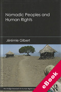 Cover of Nomadic Peoples and Human Rights (eBook)