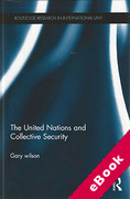 Cover of The United Nations and Collective Security (eBook)