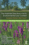 Cover of The Habitats Directive in its EU Environmental Context: European Nature's Best Hope?