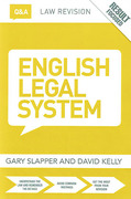 Cover of Routledge Law Revision Q&A: English Legal System