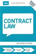 Cover of Routledge Law Revision Q&A: Contract Law