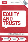 Cover of Routledge Law Revision Q&A Equity & Trusts