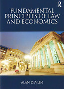 Cover of Fundamental Principles of Law and Economics