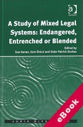 Cover of A Study of Mixed Legal Systems: Endangered, Entrenched or Blended (eBook)