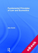 Cover of Principles of Law and Economics (eBook)