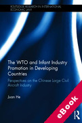 Cover of The WTO and Infant Industry Promotion in Developing Countries (eBook)