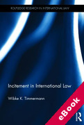 Cover of Incitement in International Law (eBook)