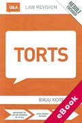 Cover of Routledge Law Revision Q&A: Torts (eBook)