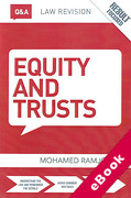 Cover of Routledge Law Revision Q&A Equity & Trusts (eBook)