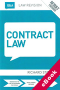 Cover of Routledge Law Revision Q&A: Contract Law (eBook)