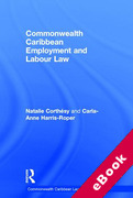 Cover of Commonwealth Caribbean Employment and Labour Law (eBook)