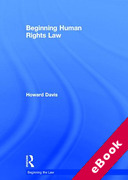Cover of Beginning Human Rights Law (eBook)