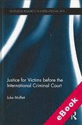 Cover of Justice for Victims before the International Criminal Court (eBook)