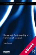 Cover of Democratic Sustainability in a New Era of Localism (eBook)
