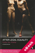 Cover of After Legal Equality: Family, Sex, Kinship (eBook)