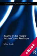 Cover of Resisting United Nations Security Council Resolutions (eBook)
