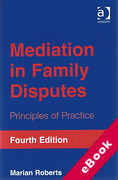 Cover of Mediation in Family Disputes: Principles of Practice (eBook)