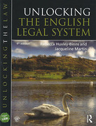 Cover of Unlocking the English Legal System